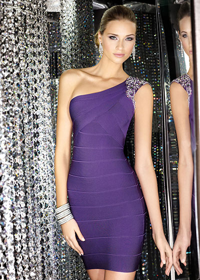Alyce 5538 purple dress