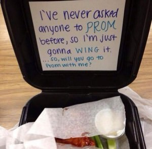 Wing It Promposal idea