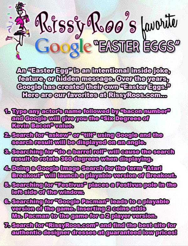 Google Easter Eggs 2014
