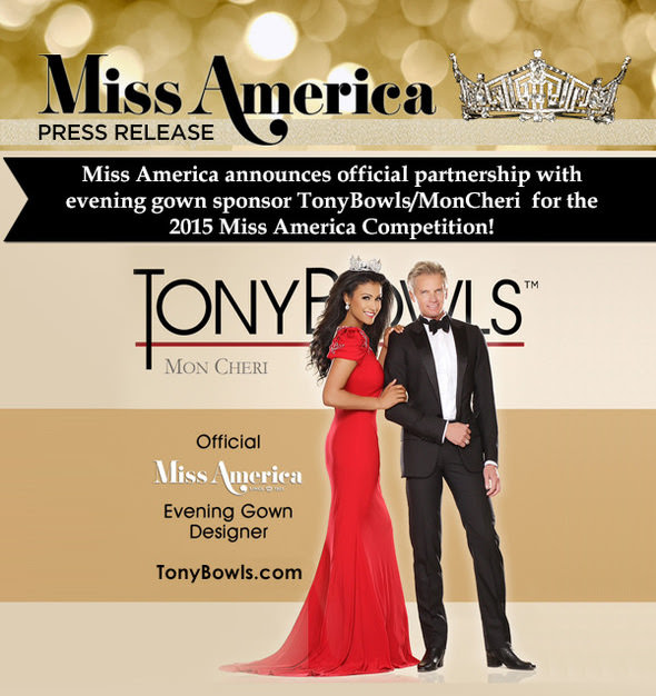 Tony Bowls Miss America Partnership