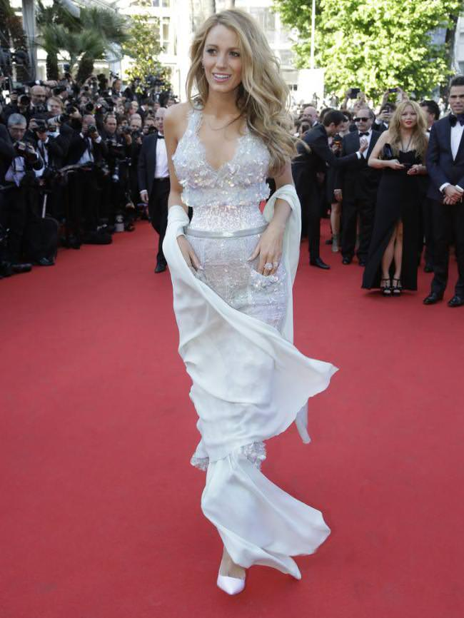 Blake Lively in Chanel at Cannes