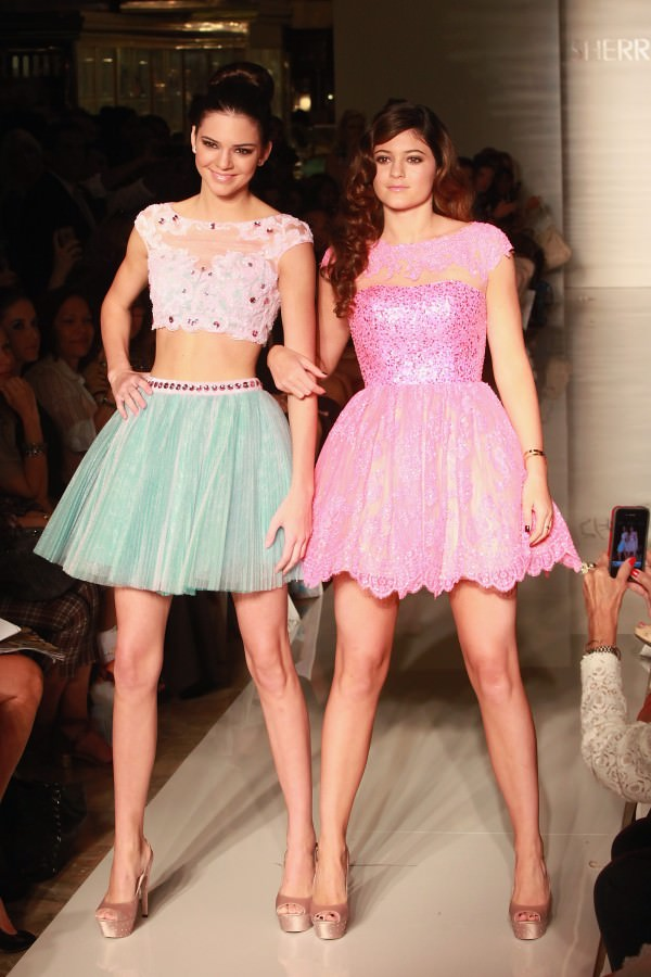 Kendall and Kylie MBFW 2013