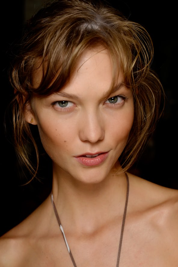 Michael Kors Model With Barely There Makeup