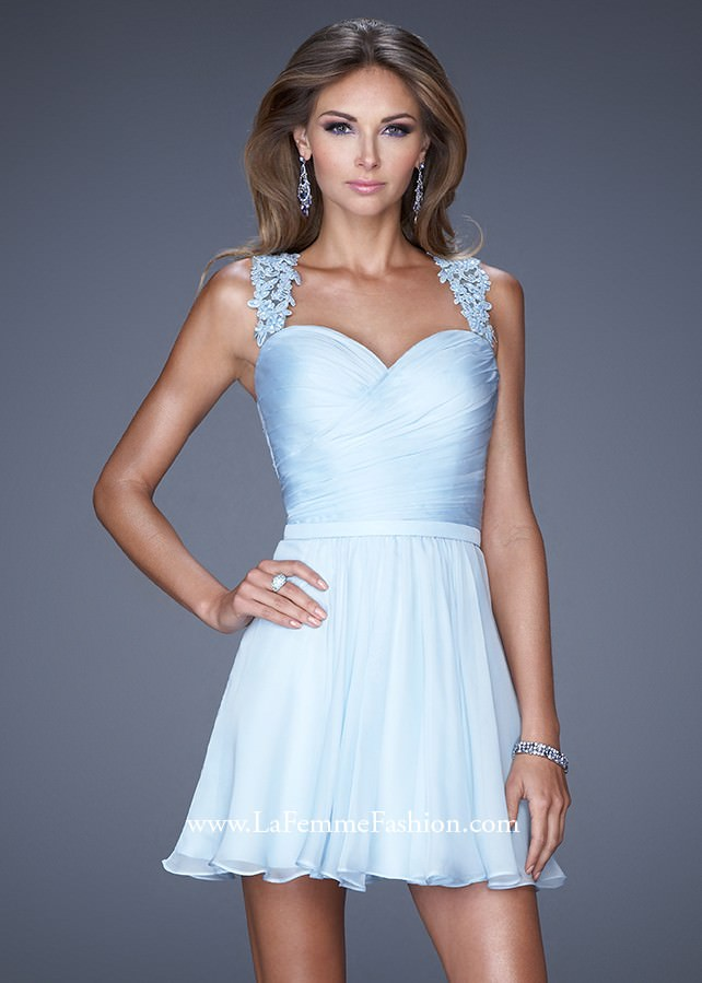 Summer Sweet 16 Party Ideas-Alice in Wonderland Dress-La Femme 20590