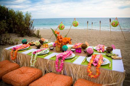 Summer Sweet 16 Party Ideas-Hawaiin Luau Party