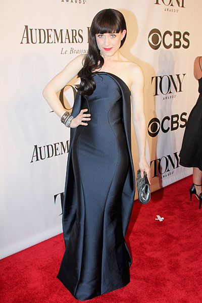 Best Dressed Tony Award Winner Lena Hall in Zac Posen