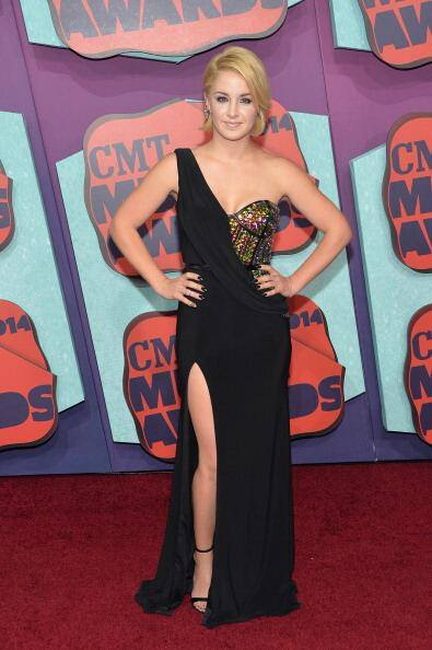Maggie Rose in a Custom Johnathan Kayne by Joshua Mckinley at CMT Awards