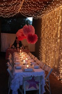 Summer Sweet 16 Party Ideas- Under the Stars Ball