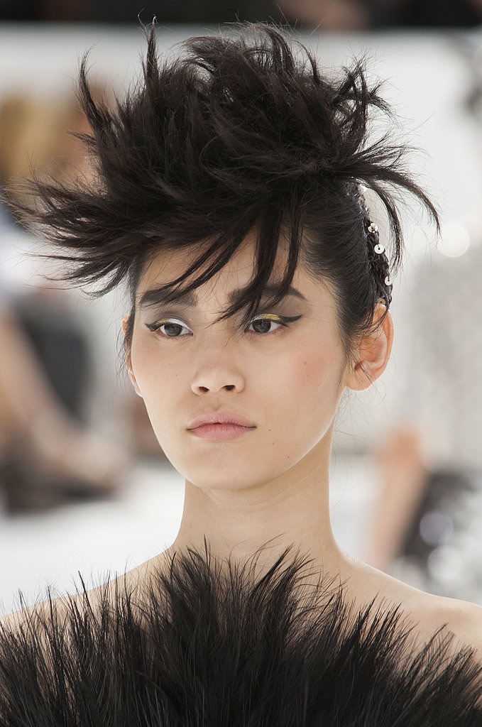 2014 Paris Haute Couture Fashion Week Beauty Trends-Chanel Haute Couture