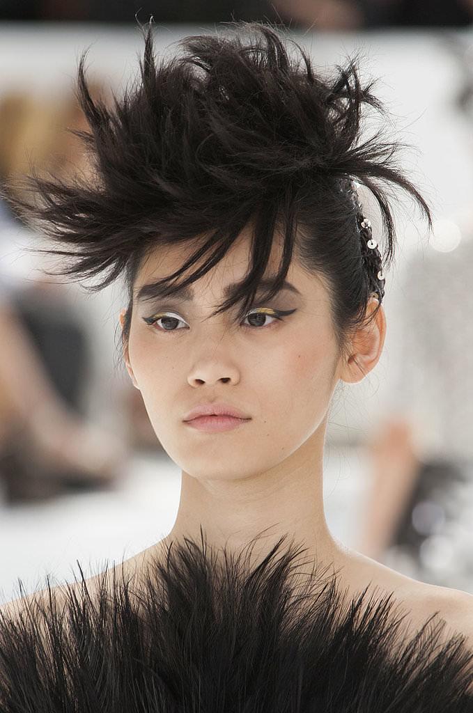2014 Paris Haute Couture Fashion Week Beauty Trends-Chanel Haute Couture