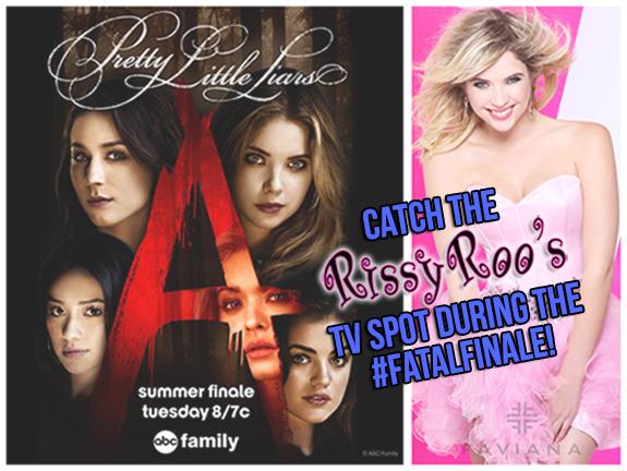 Rissy Roo's on the Mid Season Finale of Pretty Little Liars Season 5!