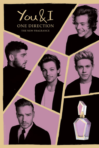 One Direction's new perfume!