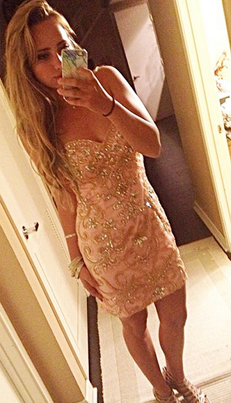 SelfieC in Claudine for Alyce prom dress 2372