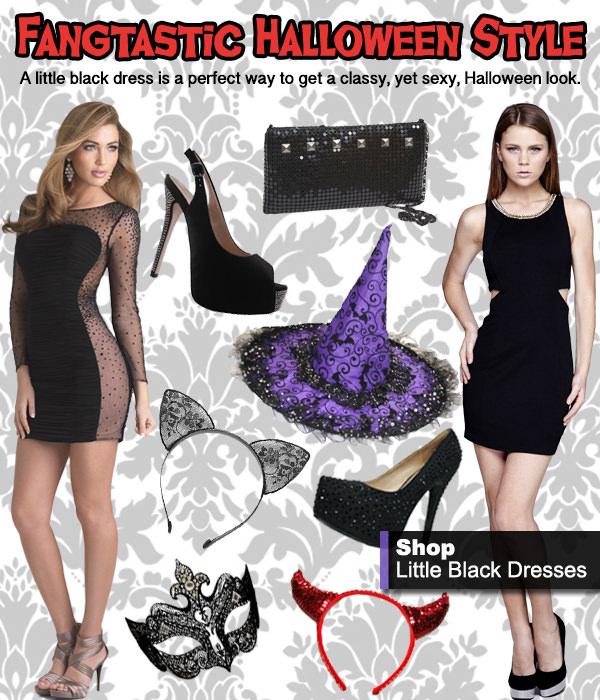 Rock an LBD for a Fangtastic Halloween Style!