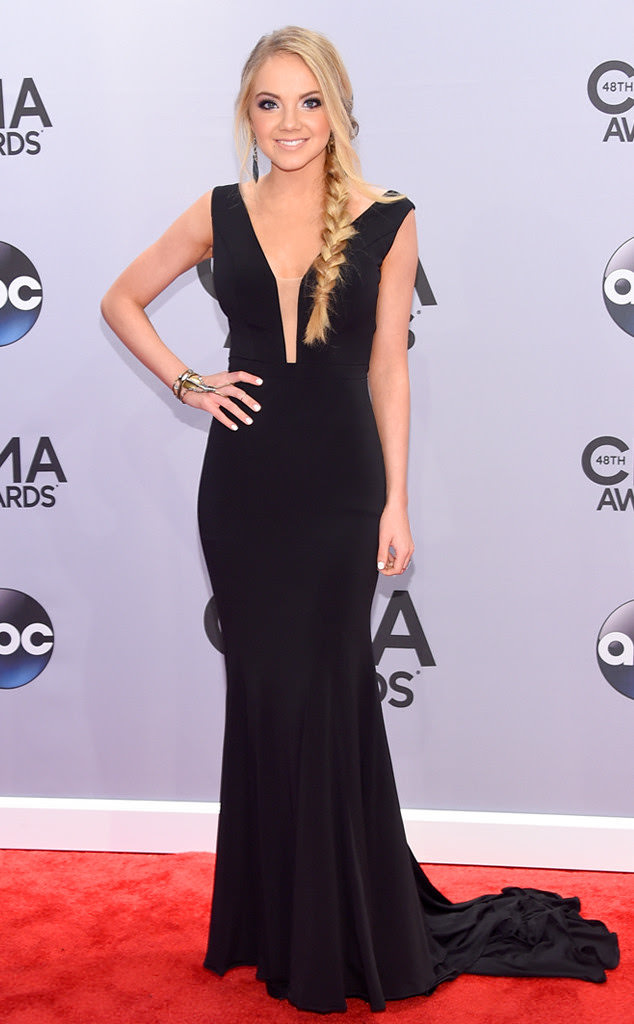 Danielle Bradbery in Jovani 22884 at the CMAs!