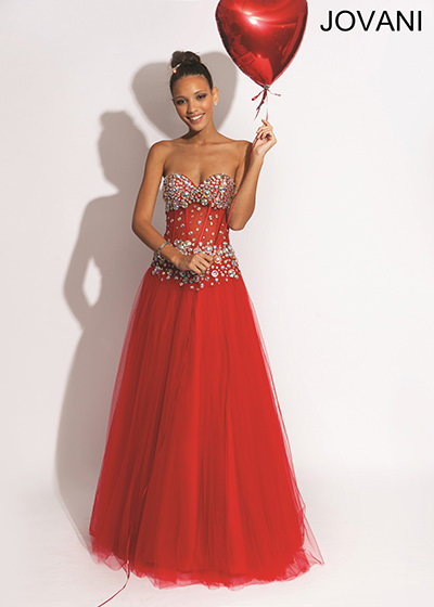 Jovani 1255 Sheer Prom Dress