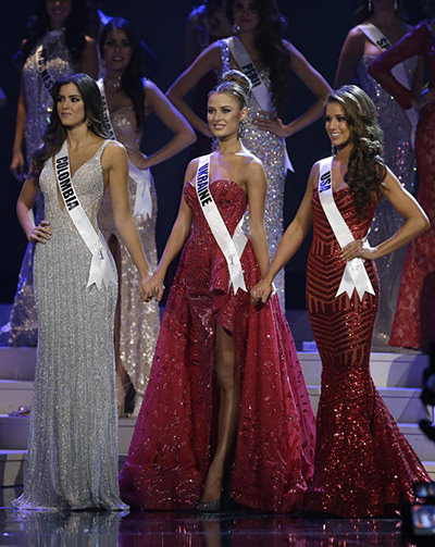 Miss Columbia is the new Miss Universe 2014!
