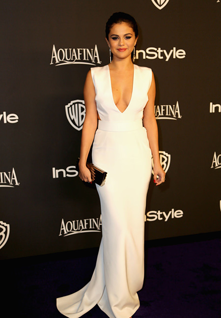 Selena Gomez Golden Globes After Party 2015