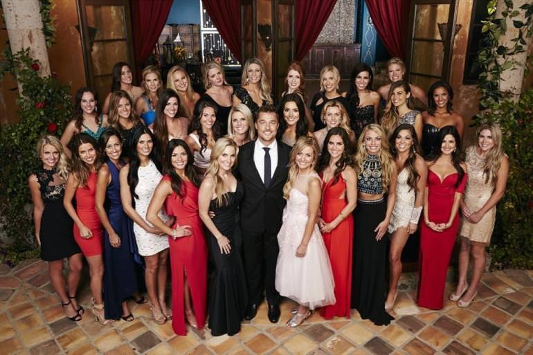 Sherri Hill 11068 on The Bachelor Season 19