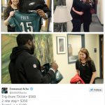 Emmanuel Acho presents Hannah with a Prom Present!