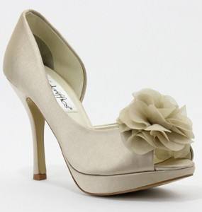 Danica by Sizzle Open Toe Pumps