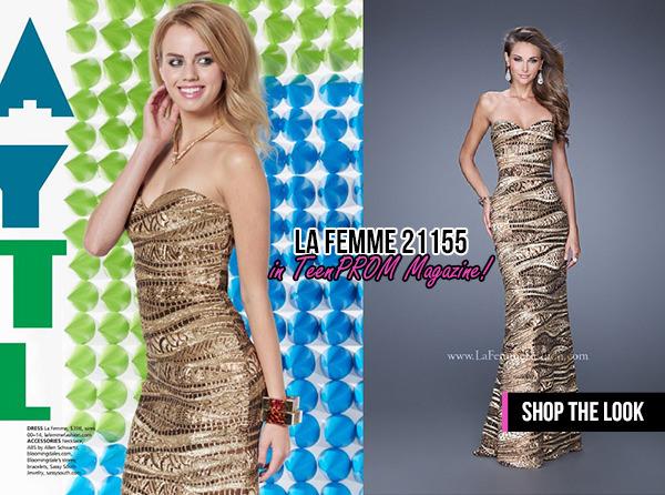 La Femme 21155 TeenPROM Magazine