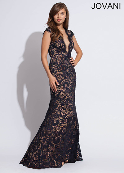 Arial Winter Prom Dress Jovani 78450