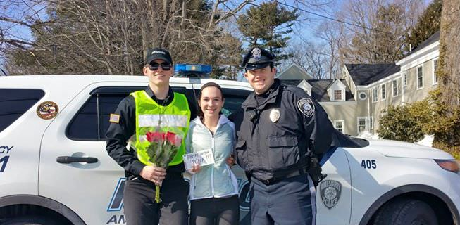 Girl Gets Pulled Over By Police. What Was Her Ticket For? A PROMPOSAL!
