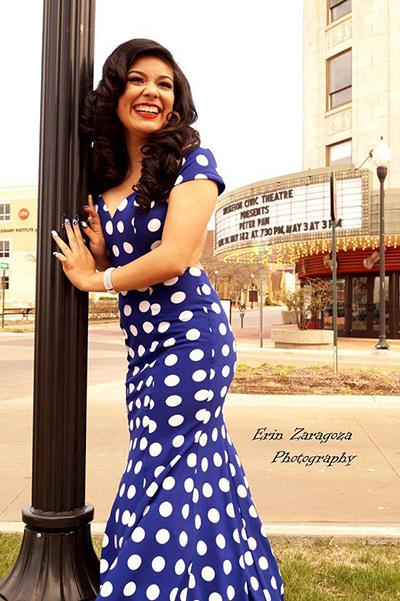Mireya looking stunning in La Femme 21452!