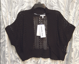 Black Semi Sheer Open Front Dolman Bolero Shrug Cardigan Jacket Sweater Top 2X eBay