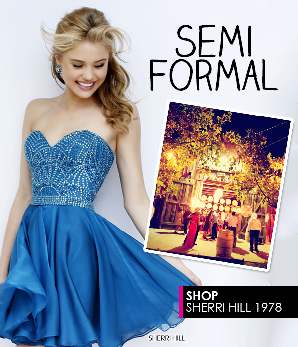 Semi Formal Cocktail Dress Sherri Hill 1978