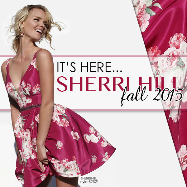 Sherri Hill Fall 2015 Dresses