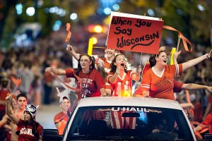 University of Wisconsin-Madison's Homecoming Parade