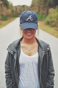 Female in Ball Cap