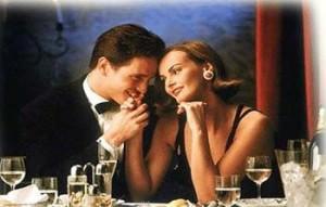 Romantic Date Kiss Hand
