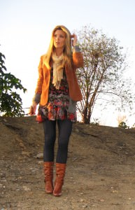floral-dress-leggings-boots-layers-6 maegan tintari