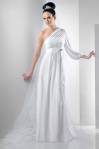 Bari Jay 2011 One Shoulder Gown