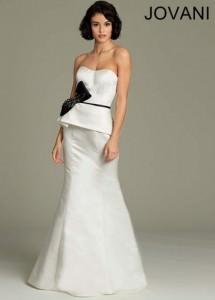 Rachel Allan 6833 Beaded Neckline Chiffon Gown