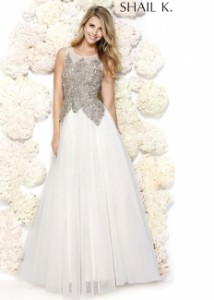Shail K. 3924 Elegant Ball Gown