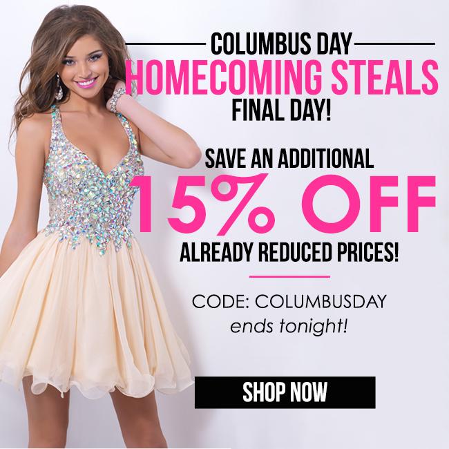 2015 Columbus Day Sale