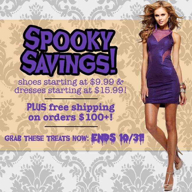 Spooky Savings Sale