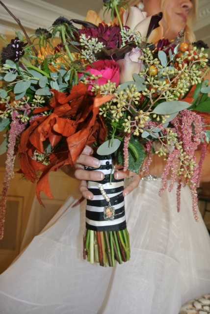 Halloween Wedding Flowers