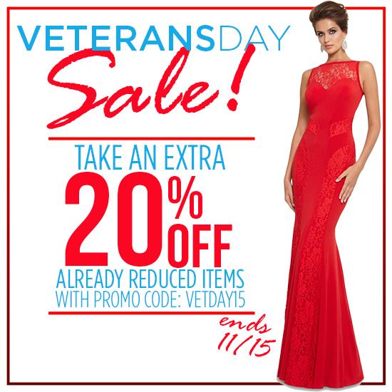 Shop 2015 Veterans Day Sale
