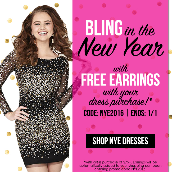 Free Earrings with Dress