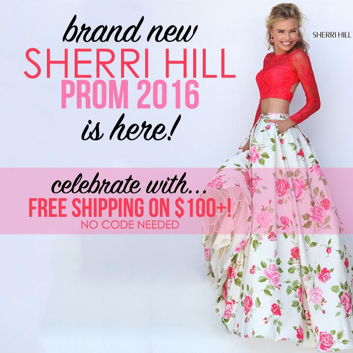 Sherri Hill Prom 2016 Dresses