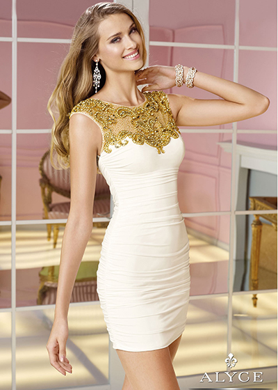 White Dress Alyce 4375