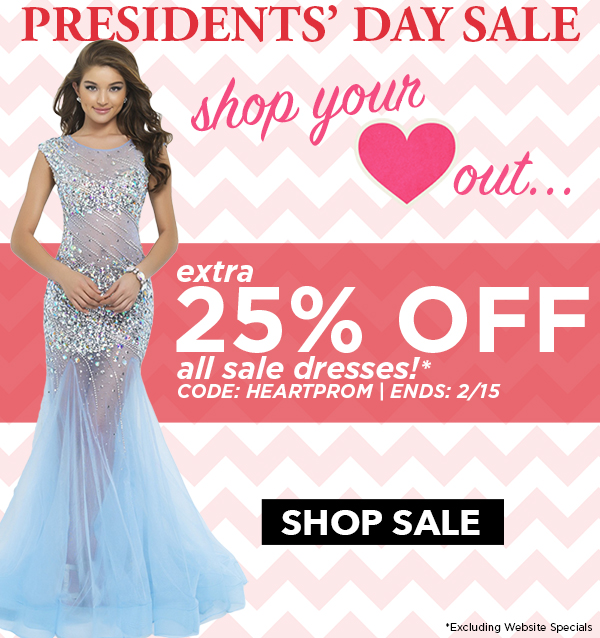 2016 Presidents' Day Sale