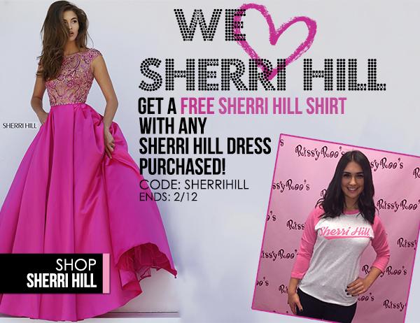FREE Sherri Hill Shirt with Sherri Hill Dress