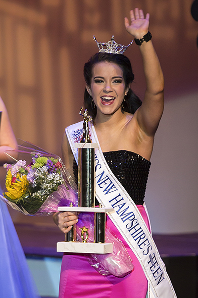 Teghan Crowned Miss New Hampshire's Outstanding Teen