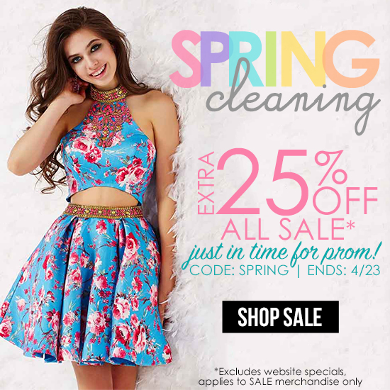 2016 Spring Cleaning Sale
